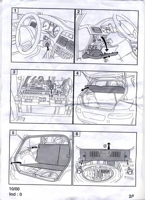 branchement attelage 307 equipement et confort auto evasion forum auto. Black Bedroom Furniture Sets. Home Design Ideas
