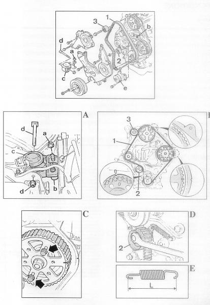probleme pour cal u00e9 la pompe injection - mazda - 626 - diesel