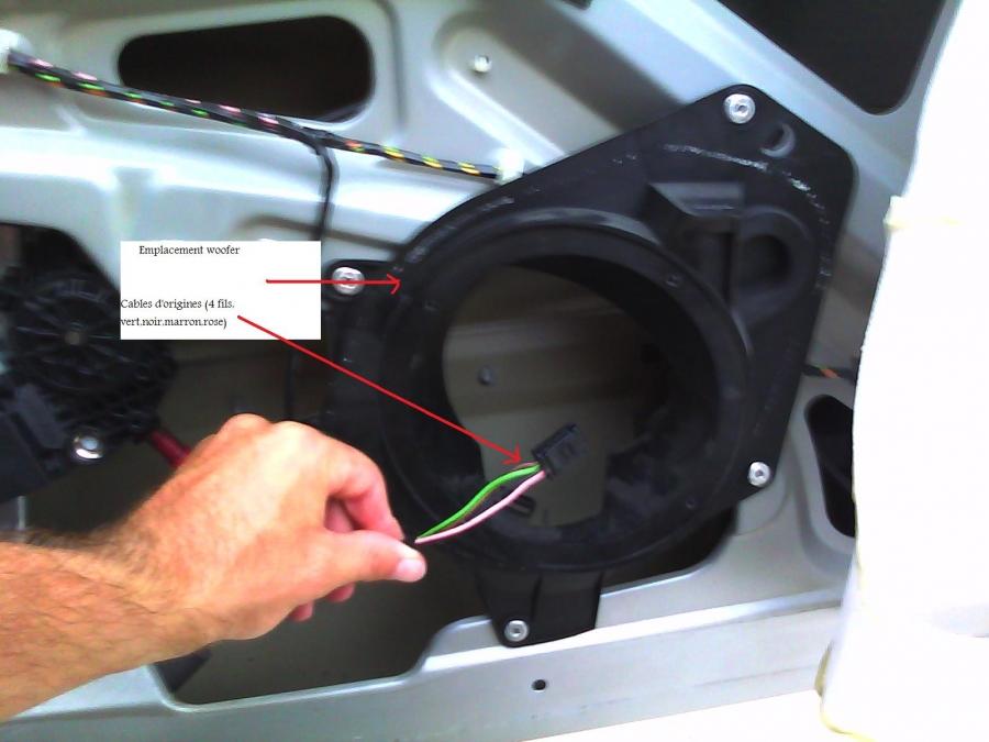 aide installation kit eclat focal 206 3 portes peugeot 206 auto evasion forum auto. Black Bedroom Furniture Sets. Home Design Ideas