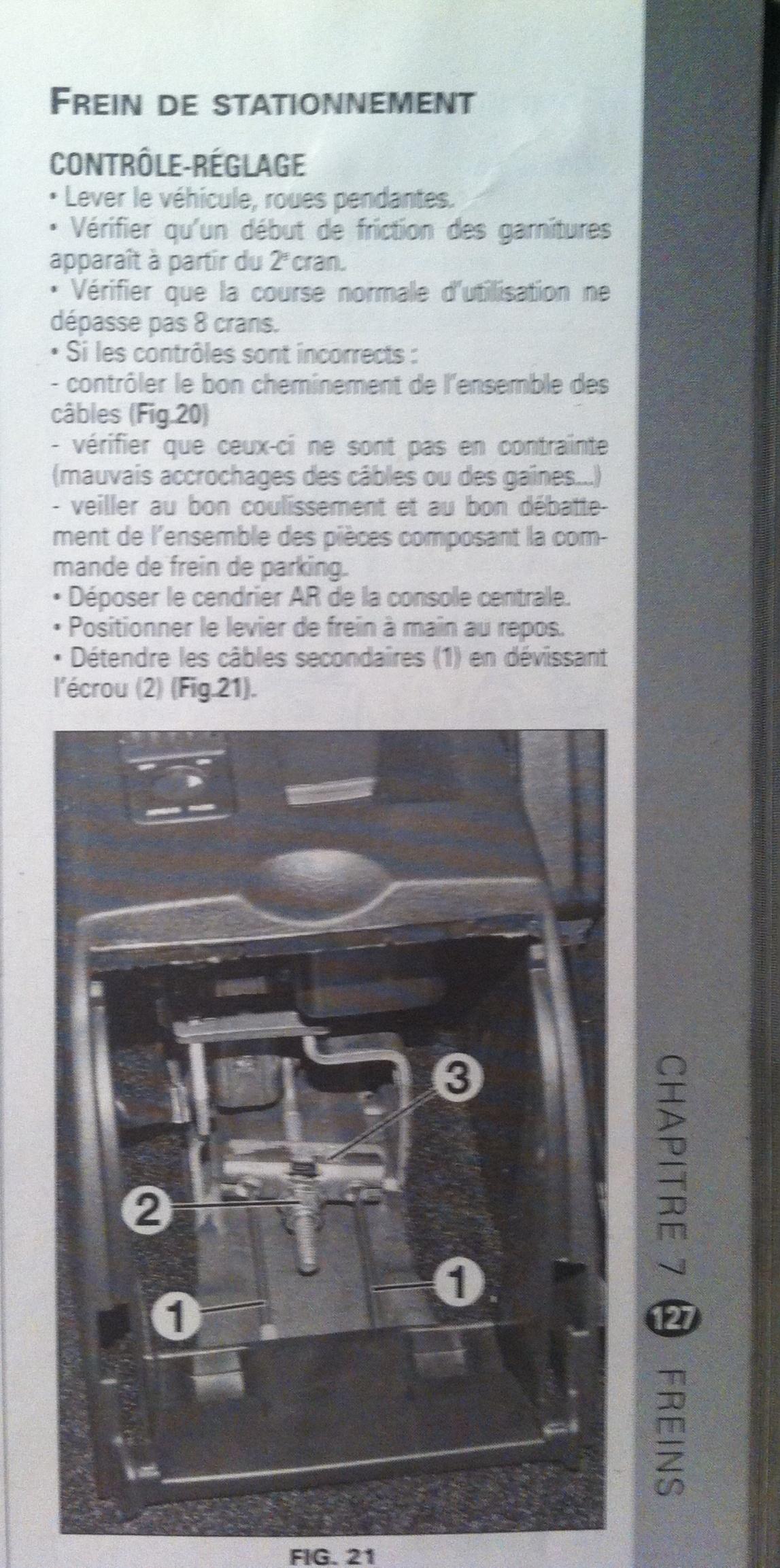 probleme de reglage du frein a main sur 307 peugeot 307 diesel auto evasion forum auto. Black Bedroom Furniture Sets. Home Design Ideas