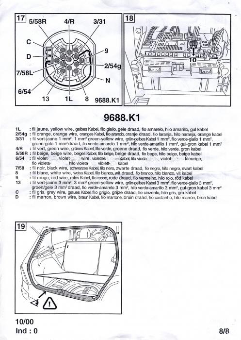 Branchement Attelage 307 Equipement Et Confort Auto
