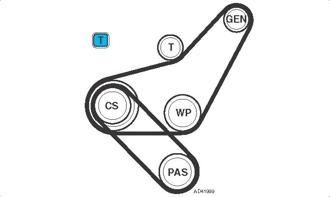 changement de courroie d alternateur - volkswagen - golf 3 - diesel