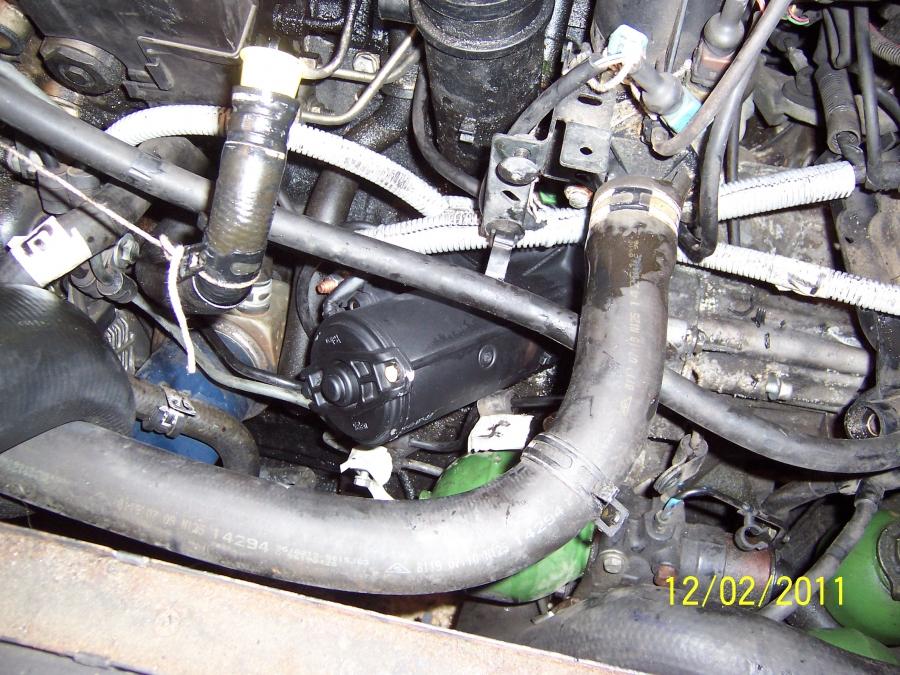 D 233 Montage D 233 Marreur Citroen Xantia Diesel Auto