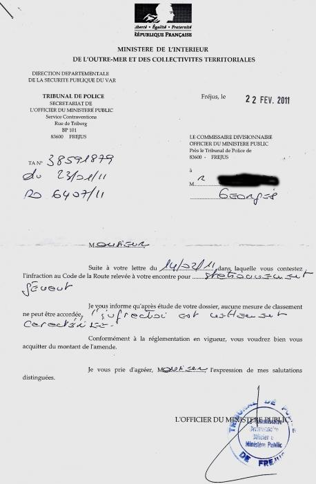 contestation contravention stationnement g u00e9nant