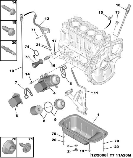filtre    huile  Peugeot  308  Diesel  Auto Evasion