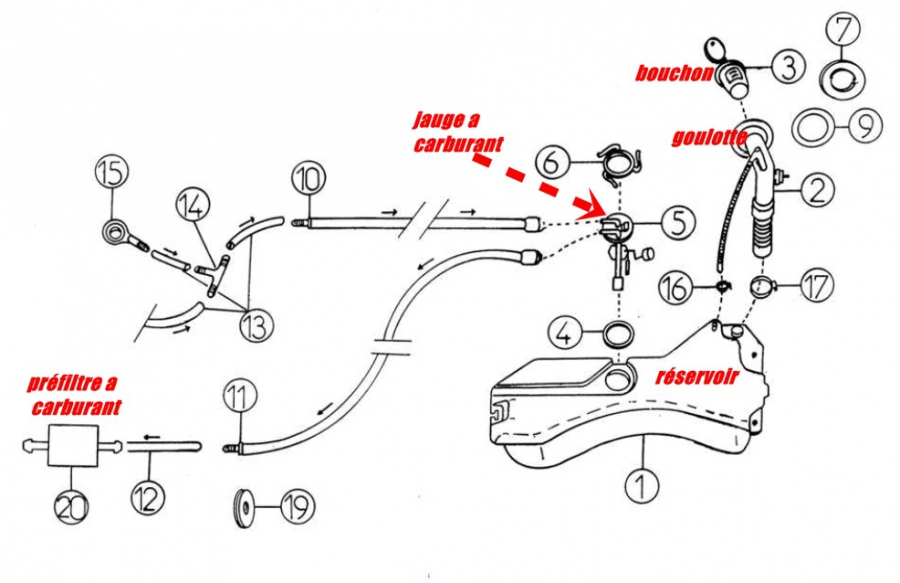 fuite gazoil - aixam - 400 - diesel