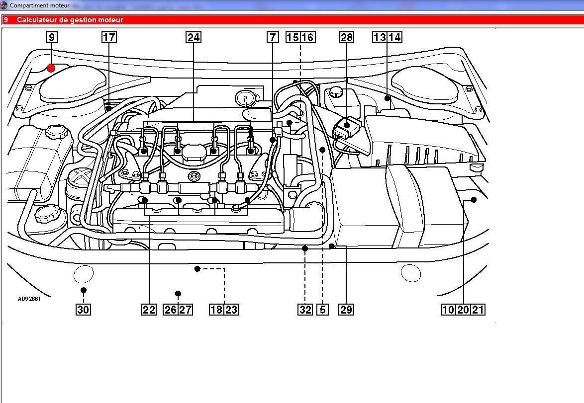 Emplacement Calculateur Ford Mondeo Auto Evasion