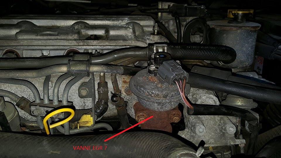 vanne egr sur mazda premacy diesel 101 cv ann u00e9e 2005