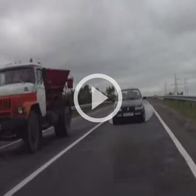 Vidéo russie accident volskwagen