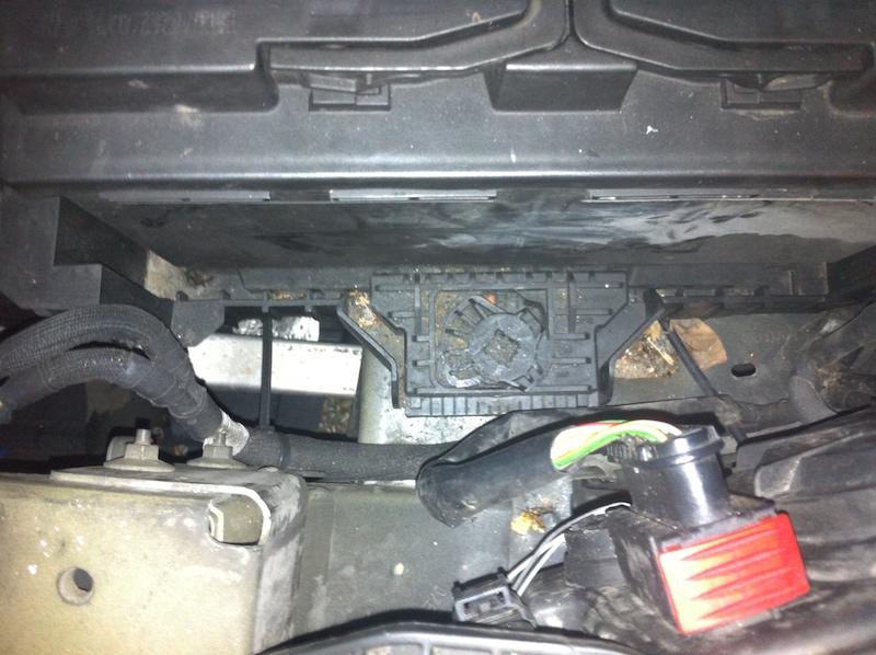 changement batterie c5 - citroen - c5 - diesel