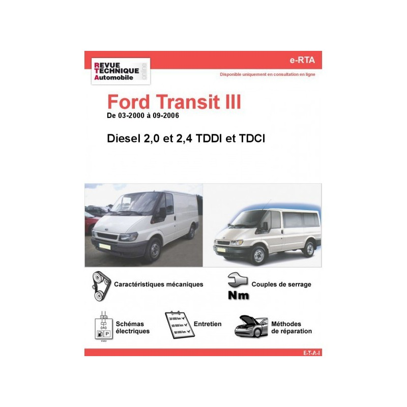rta ford transit iii ford transit diesel auto evasion forum auto. Black Bedroom Furniture Sets. Home Design Ideas