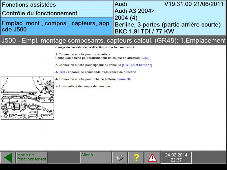 Plus De Direction Assist 233 E Sur Audi A3 8p 3jour Apr 233 S