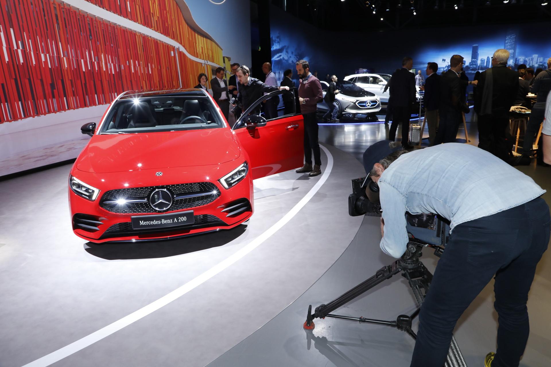 Mercedes Classe A : la compacte vedette du salon de Genève 2018