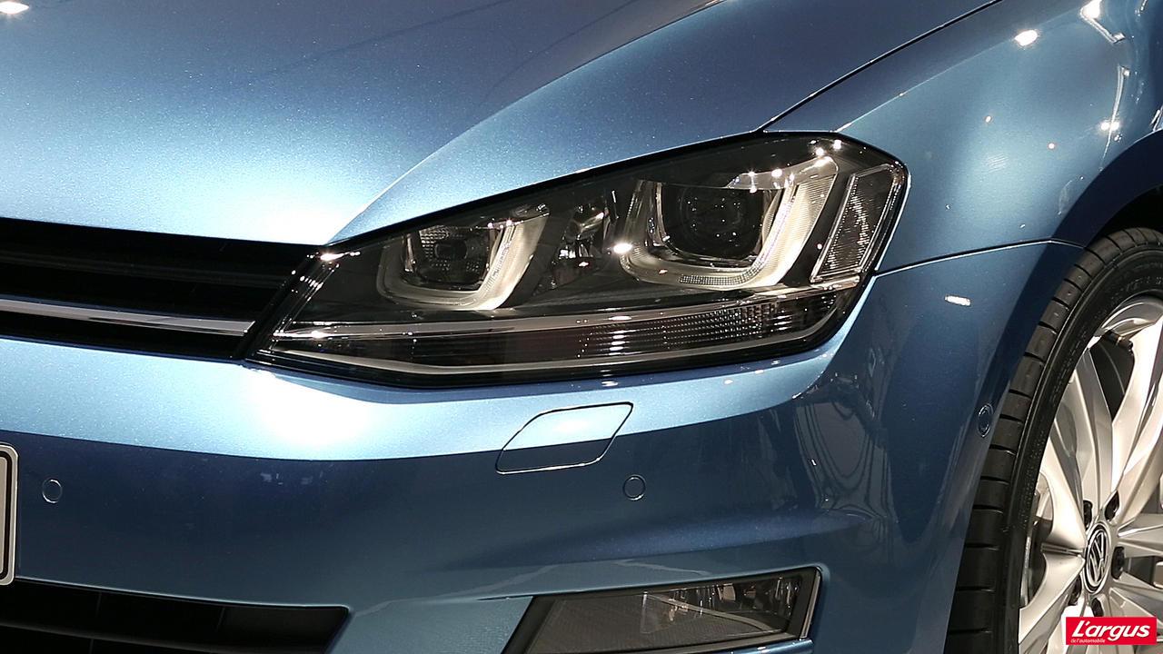 volkswagen golf golf vii vid o exclusive tarifs et motorisations mondial de l 39 auto 2012. Black Bedroom Furniture Sets. Home Design Ideas
