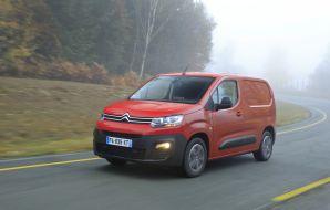 Citroën Berlingo Van, élu Utilitaire de l'année 2019 par L'argus.