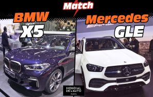 bmw x5 2018 vs mercedes gle 2019