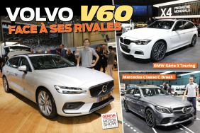 Comparatif Volvo V60 BMW Série 3 Touring Mercedes Classe C break