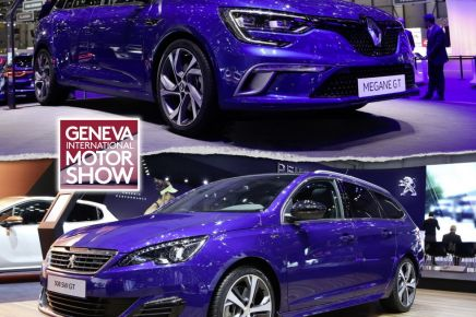 photos renault megane au salon de gen ve 2016 l 39. Black Bedroom Furniture Sets. Home Design Ideas