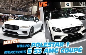 Match Polestar 1 vs Mercedes-AMG E 53 Coupé