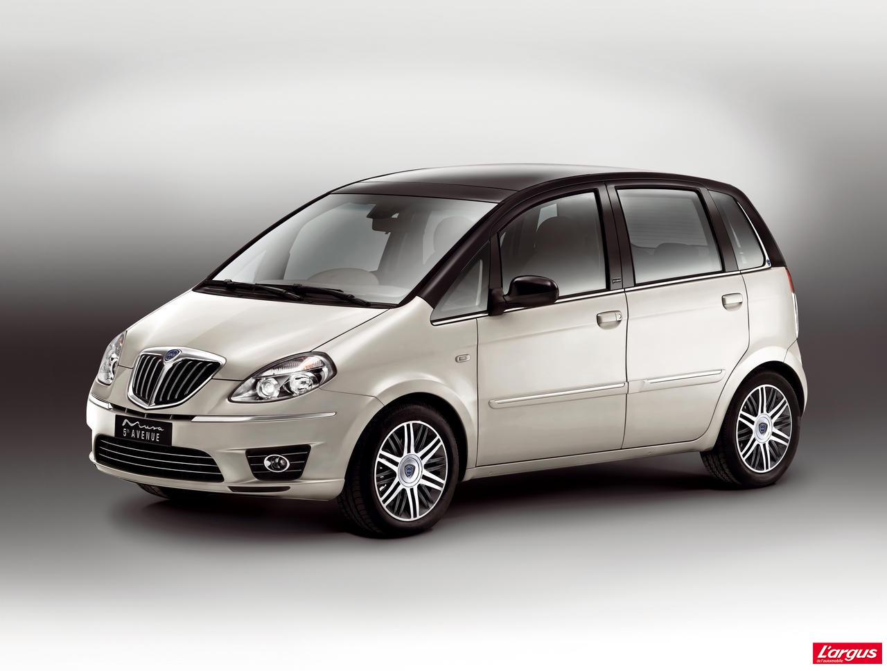 Un choix plus restreint pour le lancia musa actus auto for Auto choix