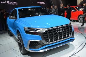 Audi Q8 Concept : révélation en direct de Detroit