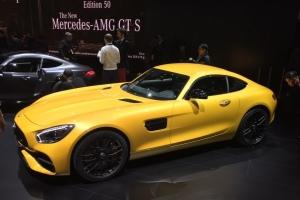 Plus de puissance pour la nouvelle AMG GT 2017