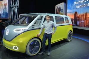 VW ID Buzz Concept : le Combi électrifie Detroit
