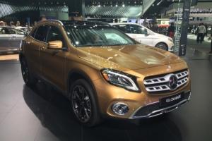 Mercedes GLA : infos et photos du restylage