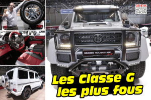 Le Mercedes Classe G dans tous ses états à Genève