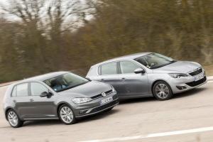 La nouvelle Volkswagen Golf défie la Peugeot 308