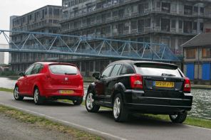 Dodge Caliber 2.0  CRD vs Seat Altea 2.0 TDI