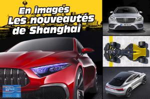 Les nouveautés du salon de Shanghai