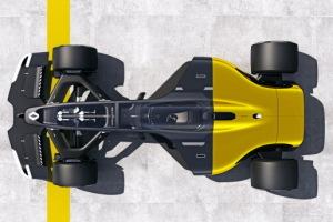 Renault dévoile sa vision de la F1 du futur