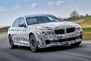 Nouvelle BMW M5 (2018) : première mise en bouche
