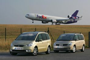 Ford Galaxy vs Renault Grand Espace 2.0 dCi