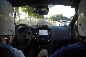 Le tour du circuit des 24H du Mans en Focus RS !