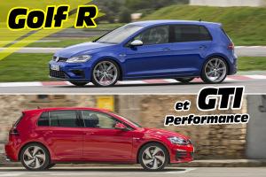 VW Golf GTI et R : le test des Golf sportives