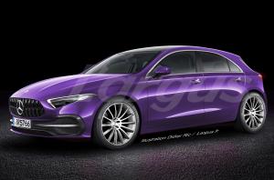 Premières infos sur la future Mercedes Classe A