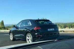 Le futur Audi Q8 aperçu décamouflé