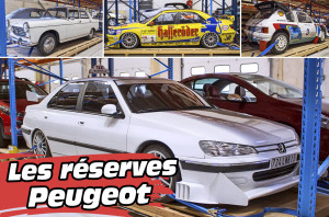 L'argus au coeur des réserves du Musée Peugeot