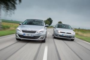 Peugeot 308 / Volkswagen Golf : la plus fiable ?