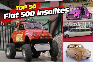 Le Top 50 des Fiat 500 les plus déjantées