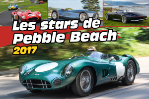 Les stars de Pebble Beach 2017 en images