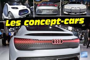 Concept-cars : en mode électrique ou autonome