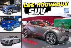 Tous les SUV du salon de Francfort 2017