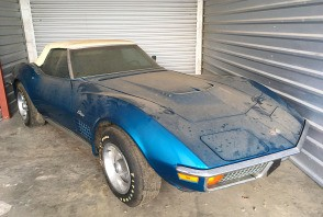 Une Chevrolet Corvette de 1972 avec 1 500 km