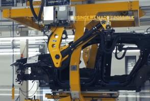 Lamborghini Urus : surpris sur la ligne de montage