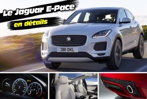 Découvrez le nouveau SUV Jaguar E-Pace