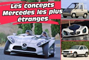 Les concepts Mercedes les plus étranges