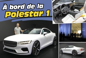 Polestar 1 : le coupé de Volvo en images